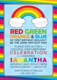 Design Own Party Invitations Pin By Patti Safka On Birthday Ideas Rainbow Party