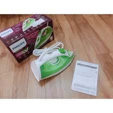 Bàn ủi hơi nước gia đình Philips GC1426 xanh lá hãng phân phối - Bàn ủi, bàn  là Nhãn hàng PHILIPS
