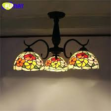 stained glass ceiling lighting fixtures vintage gvine stained