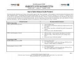 Pharmacist Letter Insulin Chart Detail Document 220910