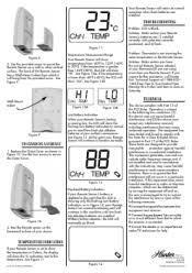 hunter thermostat remote sensor guide