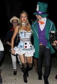 favourite character paris dressed up as a version of alice for last october