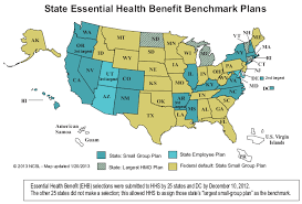 us map of essential health benefits