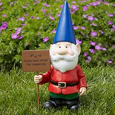 garden gnome. Simple Gnome Personalize Your Male Garden Gnome Statue With Choice Of Graphic And 2  Lines Text See More Personalized Gnomes At PersonalizationMallcom To Garden Gnome C