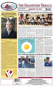 Grandview Herald August 28, 2019 by Recordbulletin - issuu
