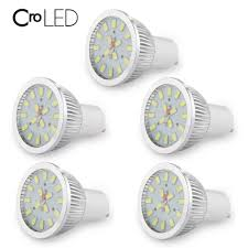 Gu10 Led White Light Us 15 03 19 Off 5pcs Gu10 Led Spot Light 6w Smd5630 White Light 16leds Spot Lamp With Glass Cover Ac85 265v In Led Bulbs Tubes From Lights