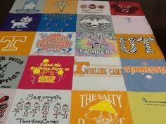 A Phi Sigma Sigma t-shirt quilt from Project Repat! Turn your ... & A University of Tennessee t-shirt quilt from one of our customers. Turn your Adamdwight.com