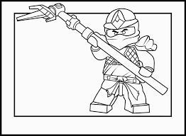 Free Printable Ninjago Coloring Pages For Kids For Ninja Pictures To