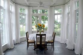 Dining room - traditional dining room idea in Other with white walls