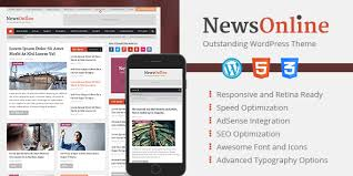 Wordpress Magazine - Theme Mythemeshop Newsonline Professional