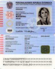 - Card Austrian Wikipedia Identity