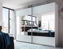 Schwebetürenschrank Penta 5 Kleiderschrank Schrank Schlafzimmer Weiß