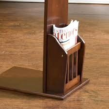... Artistic Living Room Decoration With Arts And Crafts Magazine Rack :  Outstanding Image Of Furniture For ...