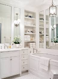 Recessed Shelves Bathroom Bathroom Smart Bathroom With Recessed Shelves Beside Rectangular