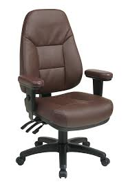 high back leather chairs. Amazon.com: Office Star Professional Dual Function Ergonomic High Back Eco Leather Chair, Burgundy: Kitchen \u0026 Dining Chairs V