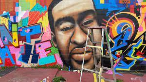 George Floyd mural Houston: Artwork ...
