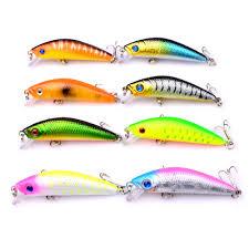 <b>Fishing lure 1pcs Pike</b> Bait Minnow 5.5cm 7.9g Jerkbait Deep Swim ...
