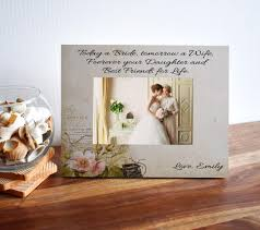 bride to mom gift personalized picture frame with custom e and name makes awesome picture frame for mothers day 4x6 photo