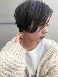 ショートボブ ナチュラル ふわふわ ショートgreek Hair Design 我妻