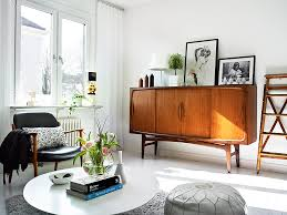 Retro Modern Living Room Awesome Decorating