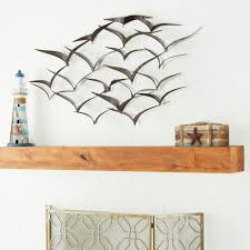 Shop the dream design at a price you love. Brown Iron Flying Birds Wall Decor Modern Metal Wall Art 47 In X 26 In For Sale Online