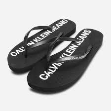 Designer Flip Flops Womens Details About Calvin Klein Womens Designer Dori Flip Flop Sandals In Black
