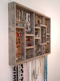 Wall Jewelry Organizer Jewellery Organizer And Bracelet Crafthubs