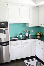 Teal Kitchen Lauras Kitchen Before After A Beautiful Mess