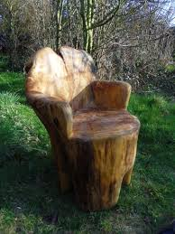 Tree Stump Seats Tree Trunk Chair Gardens Yards Pinterest Tree Trunks