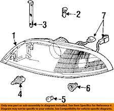 ford windstar headlights ford oem 01 03 windstar headlight head light headlamp assy left 3f2z13008cb fits ford windstar