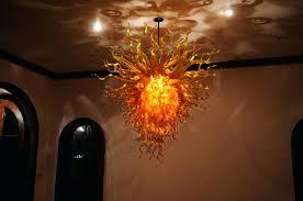 art glass chandelier orange chandelier art glass mini pendant shades