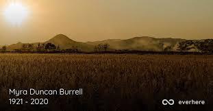 Myra Duncan Burrell Obituary (1921 - 2020) | Easley, South Carolina