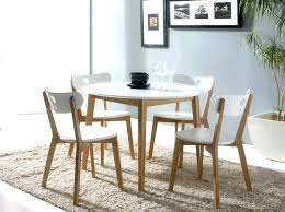dining table chairs stylish round