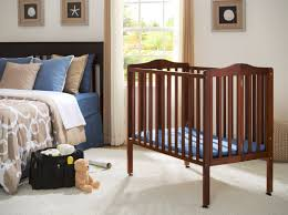 Portable/ Mini Crib with Mattress