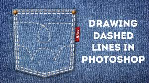 (click on show more)_tutorialsadobe illustrator. Drawing Dashed Lines In Photoshop Youtube