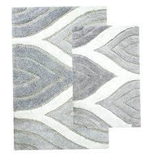 gray bathroom rug sets home design ideas bath dark grey set