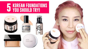 5 korean foundations you should try