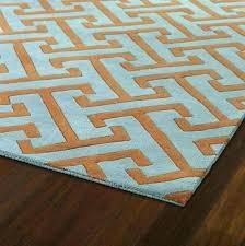 orange and green area rugs photo 6 of blue s rug safavieh crystal orange and blue area rug