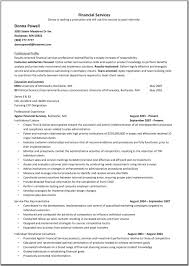 financial services representative resume template great resume click on image to enlarge