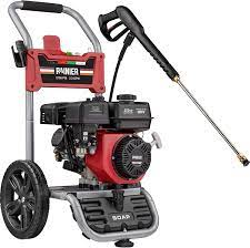 Comtents Reviews Rainier Outdoor Power Equipment Rpx2700 Gas Powered Pressure Washer Red