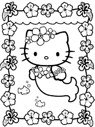Hello Kitty Coloring Pages Free Printable Cat Coloring Pages Online