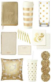 Decorative office supplies Pretty Gold Office Accessories Bright And Beautiful Chicago Fashion Lifestyle Blog Pinterest Gold Office Accessories Bright And Beautiful Chicago Fashion