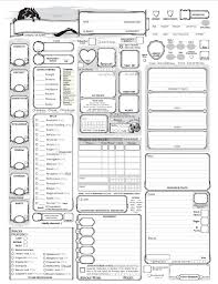 shadowrun 5 character sheet fully loaded 5e character sheet homemade pinterest character