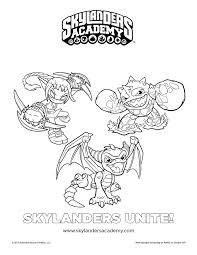 Free Skylanders Unite Printable Coloring Page Printable Coloring