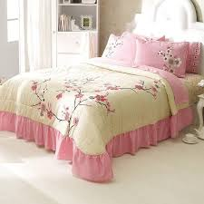 pale pink bedding. Wonderful Bedding Pale Pink Peach Bedspread Set Free Shipping To Bedding N