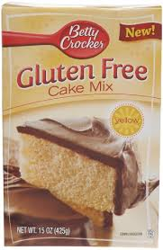 Betty Crocker Gluten Free Yellow Cake Mix 15 Ounce Boxes Pack of 6
