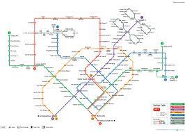 transitlink mrt  system map
