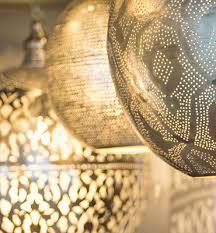 moroccan inspired lighting. oriental pendant lamps ghalia moroccan inspired lighting