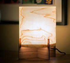 wood veneer lighting. real wood table lamp modern design in maple veneer by portrhombus c3b0 lighting a