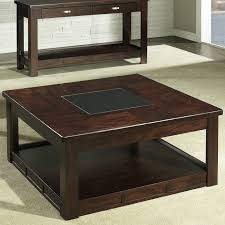 Parsons Square Coffee Table Square Parsons Coffee Table In Espresso Ecustomfinishes 48 Wood